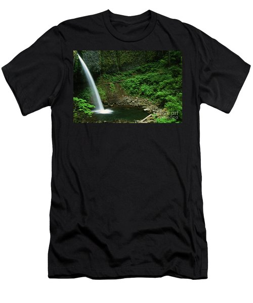 Ponytail Falls-h Men's T-Shirt (Athletic Fit)