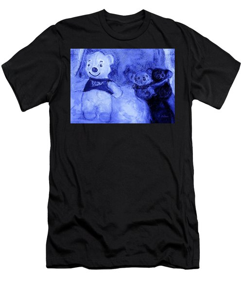Pooh Bear And Friends Men's T-Shirt (Athletic Fit)