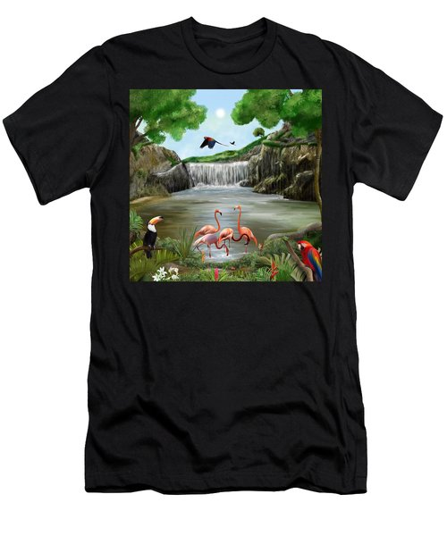 Pool Party Men's T-Shirt (Athletic Fit)