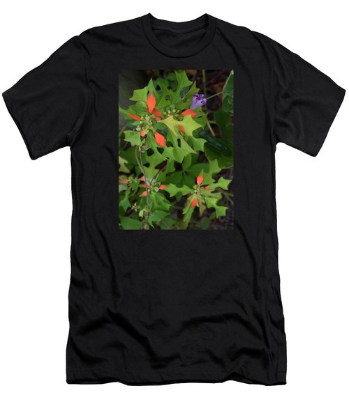 Pop Of Color Men's T-Shirt (Slim Fit) by Deborah  Crew-Johnson