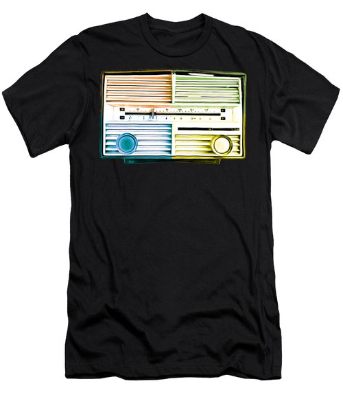 Pop Radio Tee Men's T-Shirt (Athletic Fit)