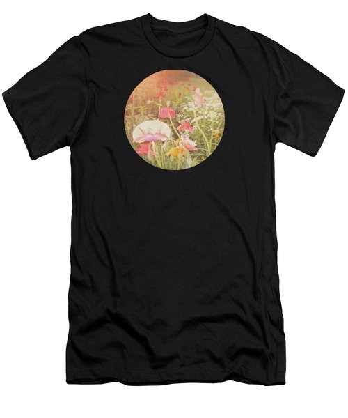 Poppies In The Light Men's T-Shirt (Athletic Fit)