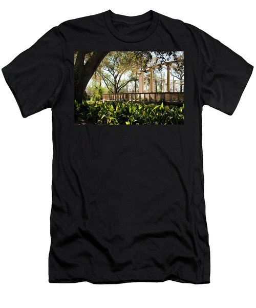 Popp's Fountain Men's T-Shirt (Athletic Fit)