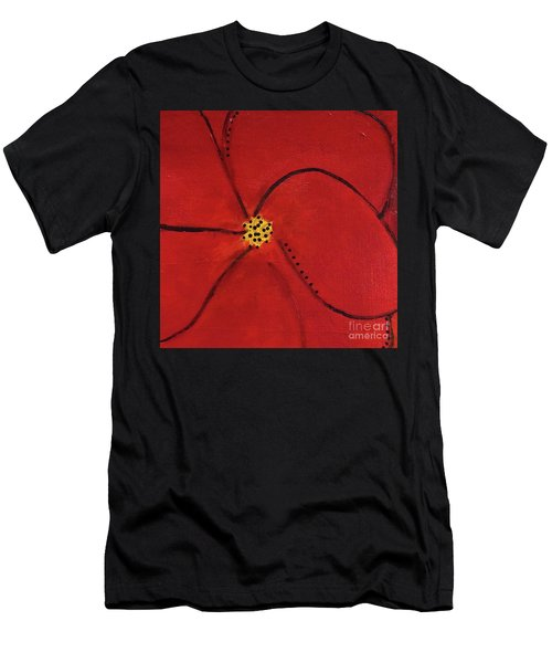 Poppy Dots Men's T-Shirt (Athletic Fit)