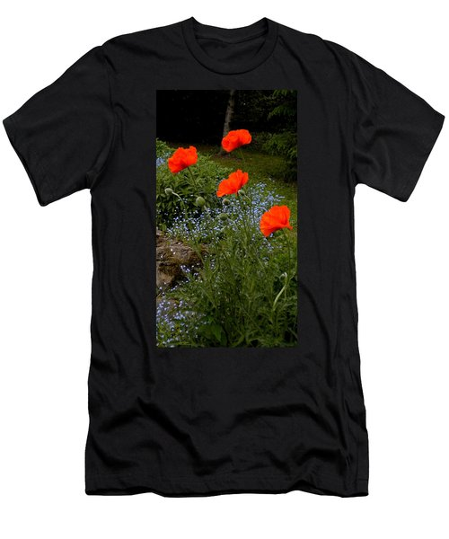 Poppy Foursome Men's T-Shirt (Athletic Fit)