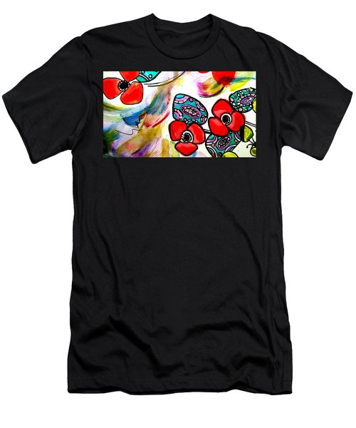 Poppy Fun Men's T-Shirt (Athletic Fit)