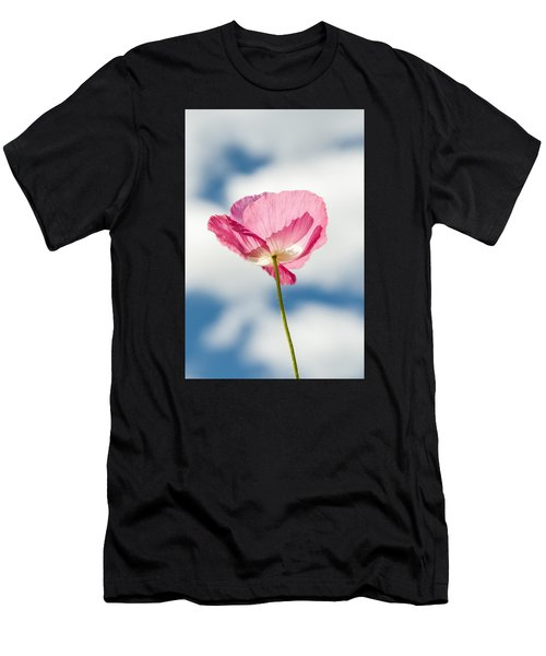 Poppy In The Clouds Men's T-Shirt (Athletic Fit)