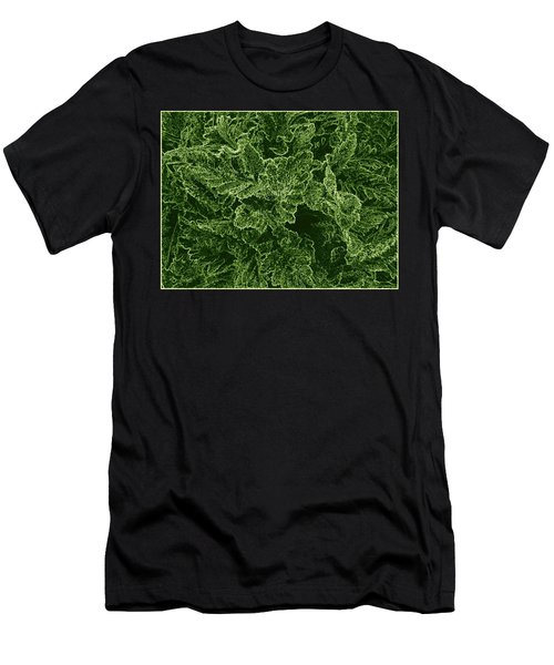 Poppy Leaves Men's T-Shirt (Athletic Fit)