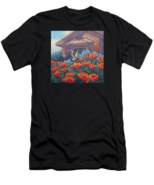 Poppy Paradise Men's T-Shirt (Athletic Fit)