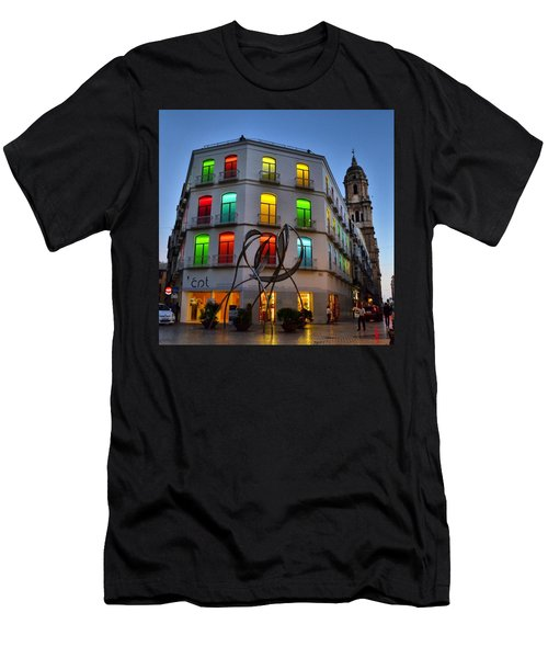 Por Las Calles Del Centro Historico De Men's T-Shirt (Athletic Fit)