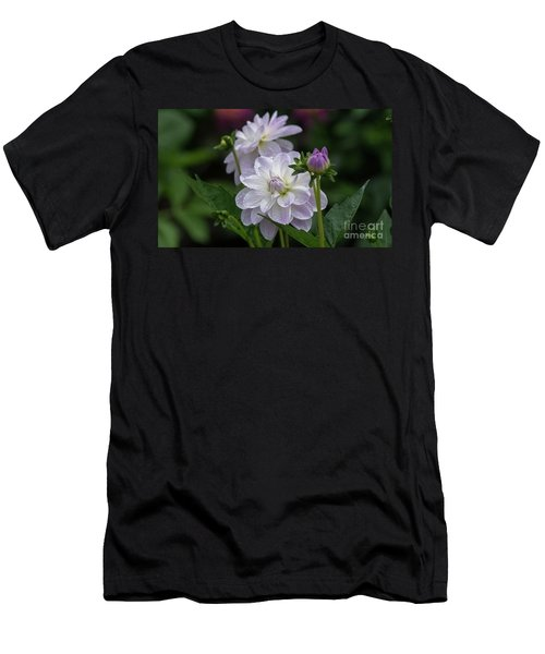 Porcelain Dahlias Men's T-Shirt (Athletic Fit)