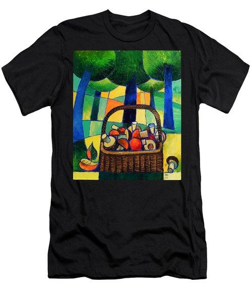Porcini Men's T-Shirt (Athletic Fit)