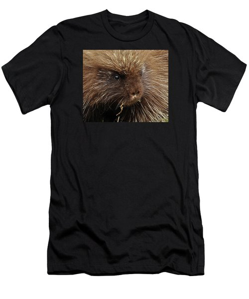Men's T-Shirt (Slim Fit) featuring the photograph Porcupine by Glenn Gordon