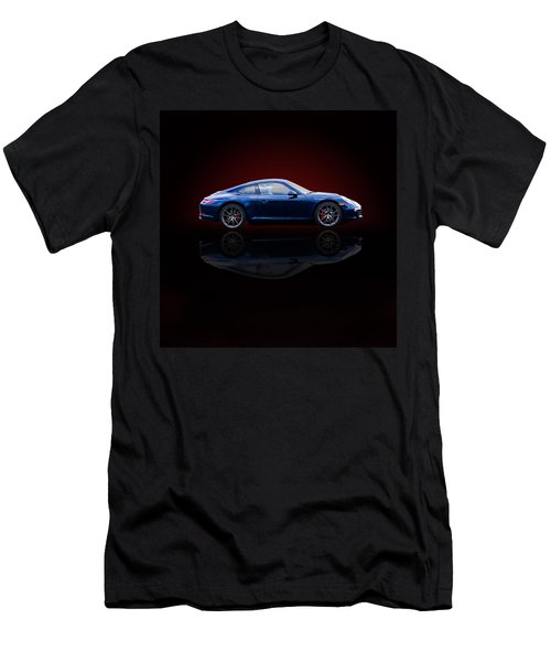Porsche 911 Carrera - Blue Men's T-Shirt (Athletic Fit)
