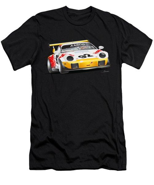 Porsche 911 Turbo Custom Men's T-Shirt (Athletic Fit)