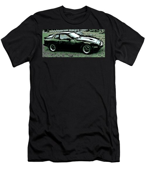Porsche 944 On A Hot Afternoon Men's T-Shirt (Athletic Fit)