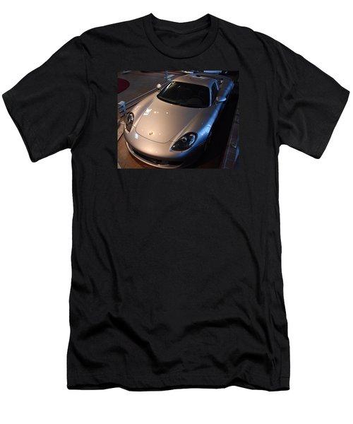 Men's T-Shirt (Slim Fit) featuring the photograph Porsche Carrera G T by John Schneider