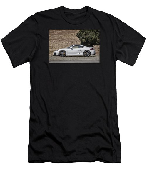 Porsche Cayman Gt4 Side Profile Men's T-Shirt (Athletic Fit)