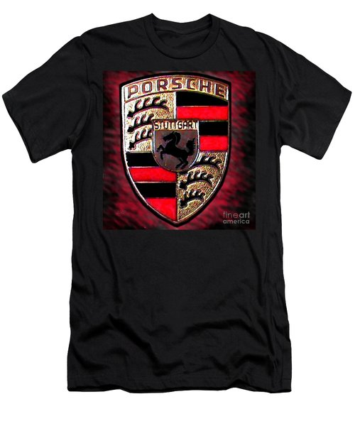 Porsche Emblem Men's T-Shirt (Athletic Fit)