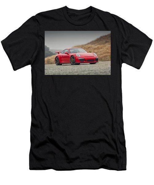 Porsche 991 Gt3 Men's T-Shirt (Athletic Fit)