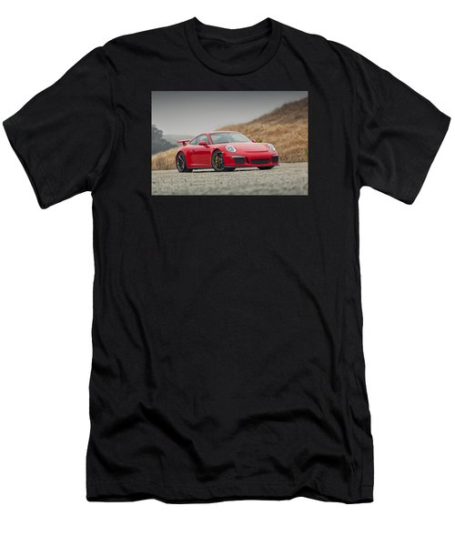 Porsche 991 Gt3 Men's T-Shirt (Athletic Fit)