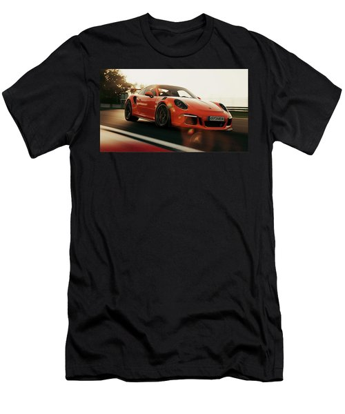 Porsche Gt3 Rs - 4 Men's T-Shirt (Athletic Fit)
