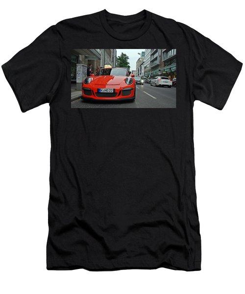 Porsche Gt3 Rs Men's T-Shirt (Athletic Fit)
