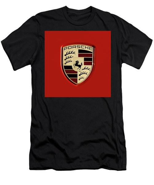 Porsche Power Red 111216 Men's T-Shirt (Athletic Fit)