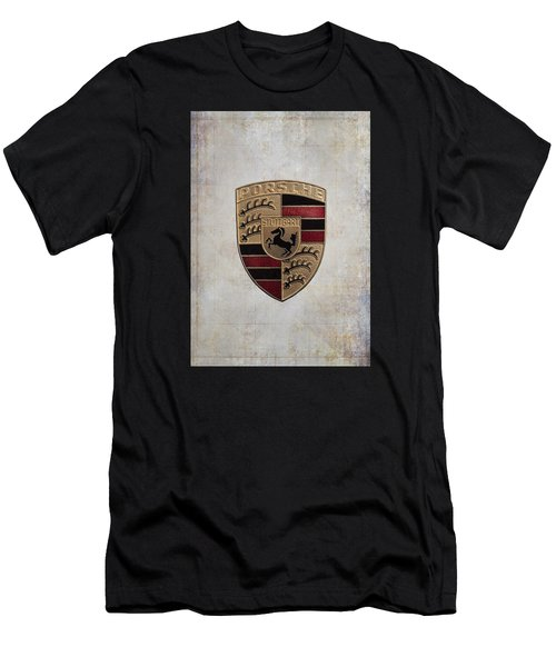 Porsche Shield Men's T-Shirt (Athletic Fit)