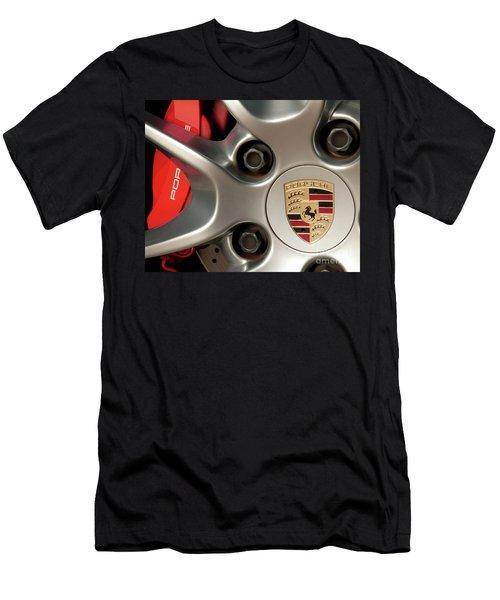 Porsche Wheel Detail #1 Men's T-Shirt (Athletic Fit)