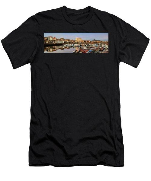 Port Of Ferrol Galicia Spain Men's T-Shirt (Athletic Fit)
