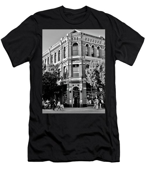 Port Townsend Washington State Architecture Bw Men's T-Shirt (Athletic Fit)