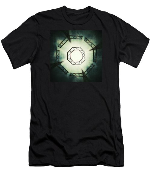 Portal Men's T-Shirt (Slim Fit) by Jorge Ferreira