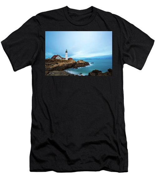Portland Head Light 1 Men's T-Shirt (Athletic Fit)