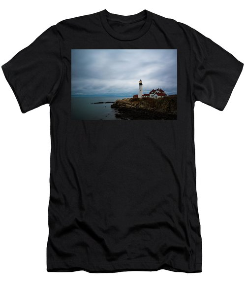 Portland Head Light 2 Men's T-Shirt (Athletic Fit)
