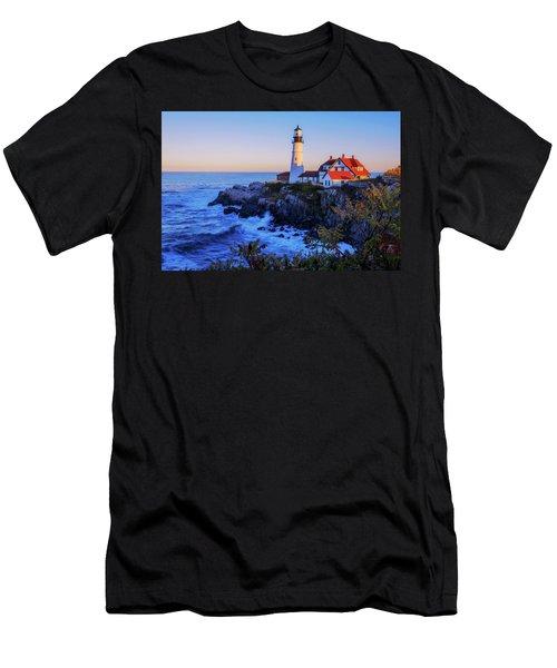 Portland Head Light II Men's T-Shirt (Athletic Fit)