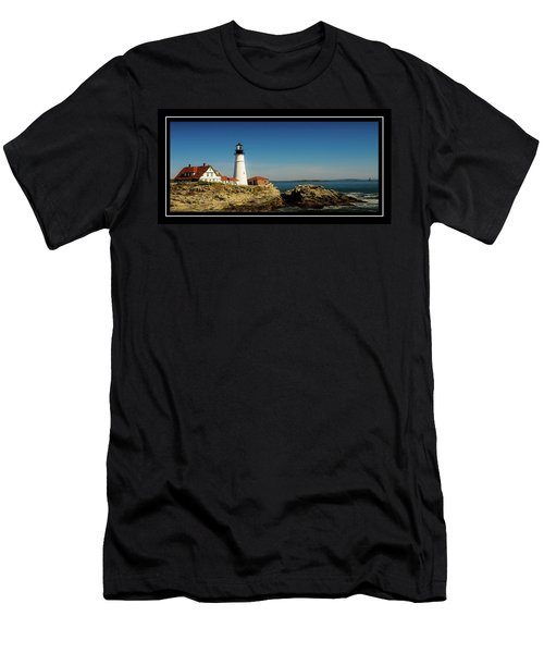Portland Head Lighthouse 7 Men's T-Shirt (Athletic Fit)