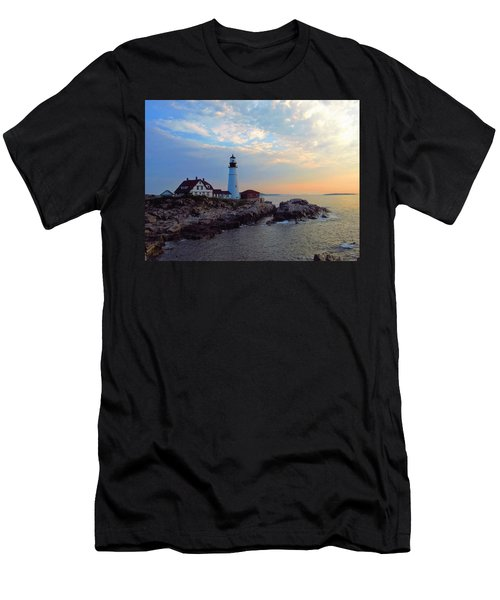 Portland Headlight Men's T-Shirt (Athletic Fit)