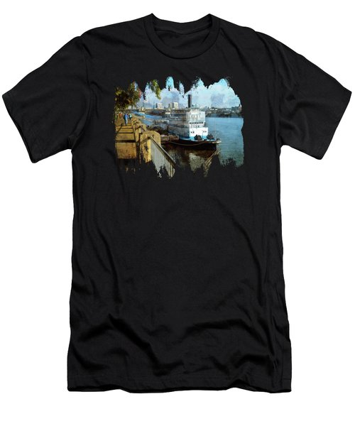 Portland Sunday Walk Men's T-Shirt (Athletic Fit)