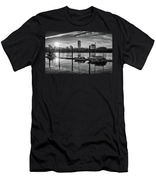 Portland Waterfront  Men's T-Shirt (Athletic Fit)