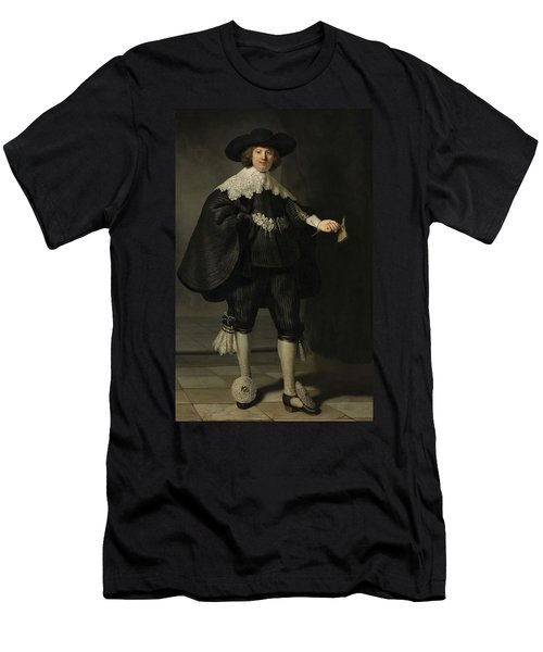 Portrait De Marten Soolmans, 1634 Men's T-Shirt (Athletic Fit)
