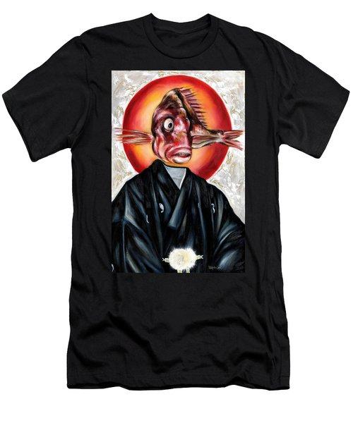 Portrait Men's T-Shirt (Athletic Fit)