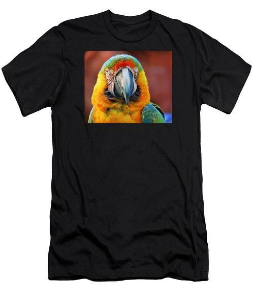 Portrait Of A Bird Men's T-Shirt (Athletic Fit)