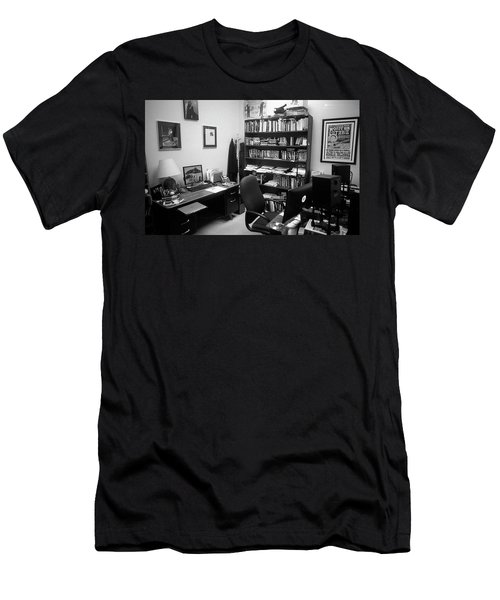 Portrait Of A Film/tv Professor's Office Men's T-Shirt (Athletic Fit)
