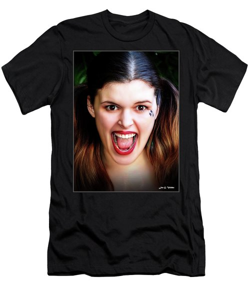 Portrait Of A Harlequin Men's T-Shirt (Athletic Fit)