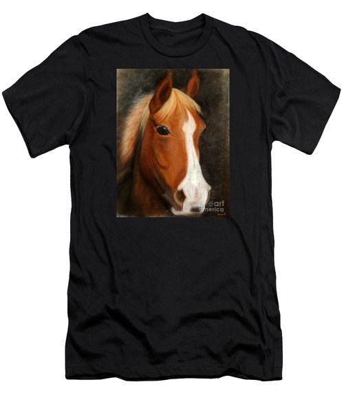 Portrait Of A Horse Men's T-Shirt (Athletic Fit)
