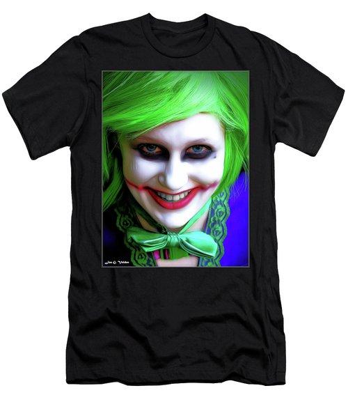 Portrait Of A Joker Men's T-Shirt (Athletic Fit)