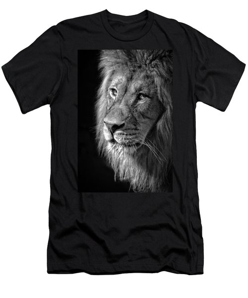 Portrait Of A King Men's T-Shirt (Athletic Fit)