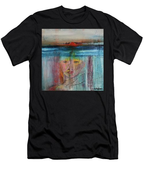 Portrait Of A Refugee Men's T-Shirt (Athletic Fit)