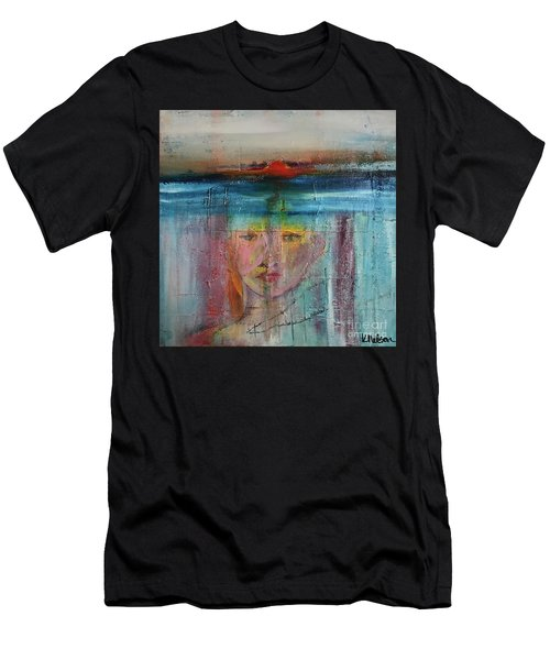 Portrait Of A Refugee Men's T-Shirt (Athletic Fit)